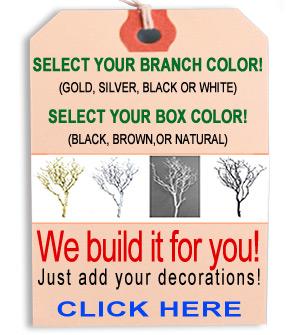 Manzanita centerpiece information